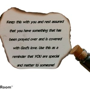 A PRAYER TRINKET! Gift for loved ones
